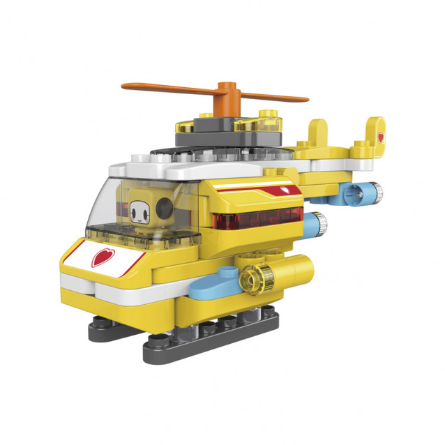 PAI BLOKS Конструктор BLK HELICOPTER 79 pcs - 1
