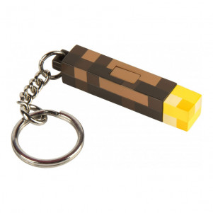 JINX Брелок Minecraft 3D Light-Up Torch Keychain (Each)-Each-MultiColor - для детей
