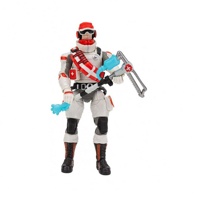 JAZWARES Fortnite Коллекционная фигурка Solo Mode Triage Trooper S3 - 2