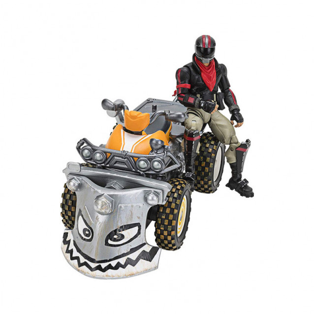 JAZWARES Fortnite Колекційна фігурка Feature Vehicle Quadcrasher - 4