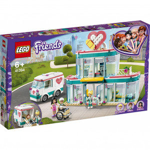 LEGO FRIENDS  Лікарня в Хартлейк-Сіті (41394) лего френдс