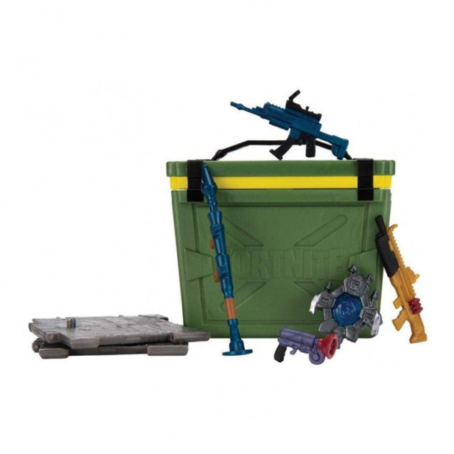 JAZWARES Fortnite Коллекционная фигурка Accessory Set Loot Battle Box Collectible Assortment - 3