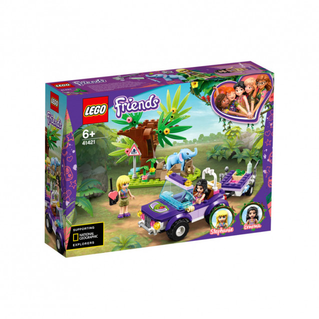 LEGO FRIENDS Порятунок слоненятка в джунглях (41421) - 1
