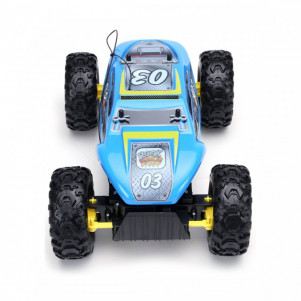 MAISTO TECH Автомодель на р/у Rock Crawler Extreme аккум. 6v + 2хАА blue детская игрушка