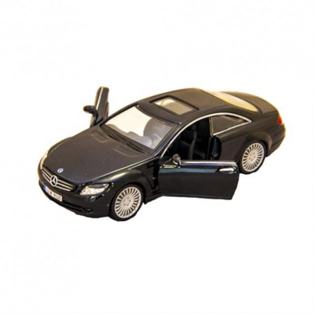 Автомодель - MERCEDES-BENZ CL-550 (белый, черный, 1:32) - 4
