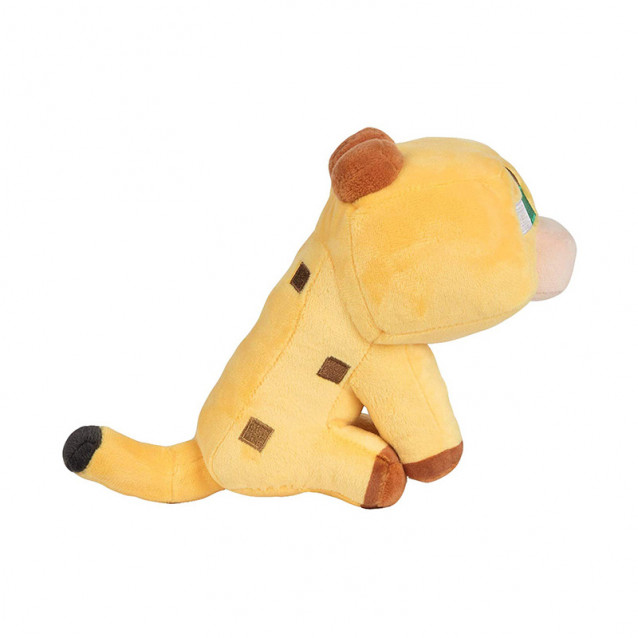 JINX Minecraft Плюшева іграшка Happy Explorer Baby Ocelot Plush-N/A-Yellow - 2