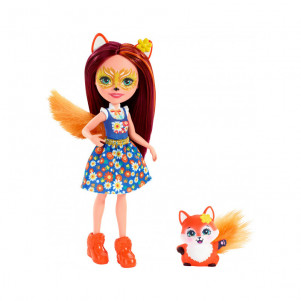 MATTEL ENCHANTIMALS Кукла Enchantimals Лисичка Фелисити обновл. кукла