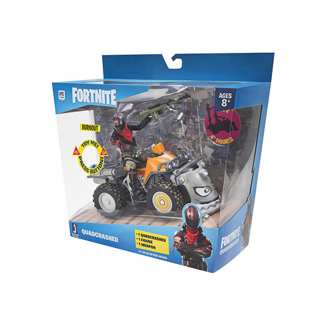 JAZWARES Fortnite Колекційна фігурка Feature Vehicle Quadcrasher - 8