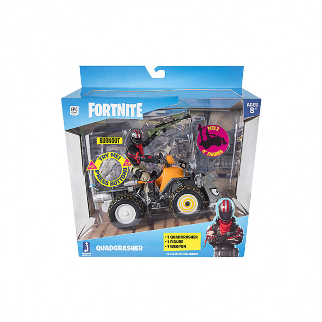 JAZWARES Fortnite Колекційна фігурка Feature Vehicle Quadcrasher - 7