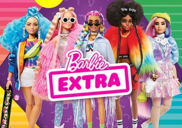Колекція BARBIE EXTRA! Суперстильні та унікальні ляльки для самовираження!