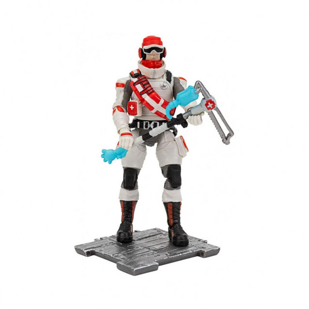 JAZWARES Fortnite Коллекционная фигурка Solo Mode Triage Trooper S3 - 1