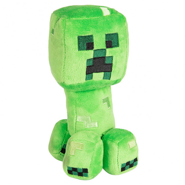 JINX Minecraft Плюшевая игрушка Happy Explorer Creeper Plush-N / A-Green - 1