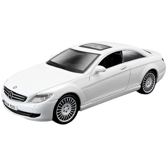 Автомодель - MERCEDES-BENZ CL-550 (белый, черный, 1:32) - 5