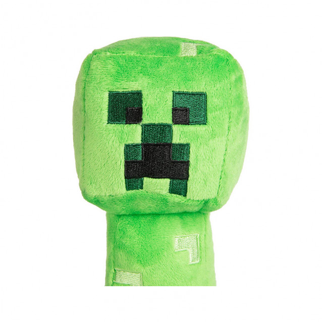 JINX Minecraft Плюшевая игрушка Happy Explorer Creeper Plush-N / A-Green - 2