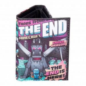 JINX Minecraft Кошелек Tales from the End Tri-Fold Wallet-N/A-MultiColor - для детей