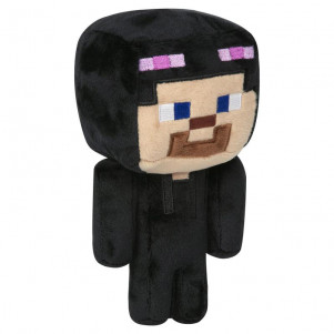 JINX Плюшевая игрушка Minecraft Happy Explorer Steve in Enderman Costume Plush Black/Purple детская игрушка