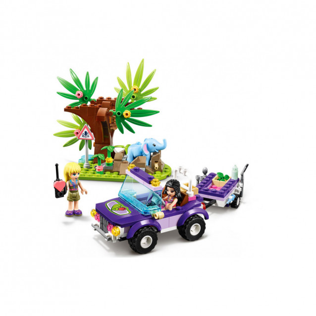 LEGO FRIENDS Порятунок слоненятка в джунглях (41421) - 7