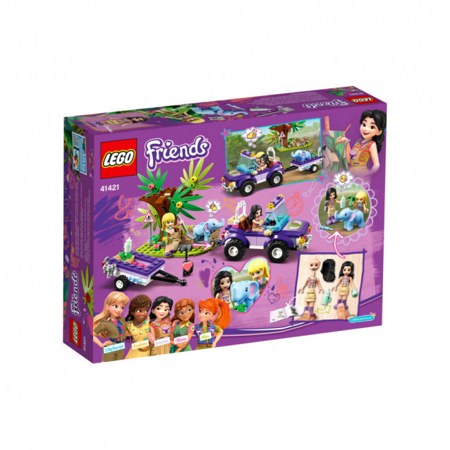 LEGO FRIENDS Порятунок слоненятка в джунглях (41421) - 2
