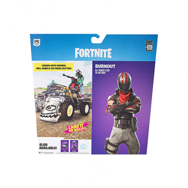 JAZWARES Fortnite Колекційна фігурка Feature Vehicle Quadcrasher - 6